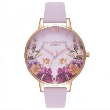 Enchanted Garden Blossom & Rose Gold Watch