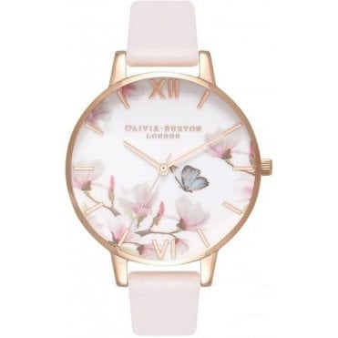 Pretty Blossom Rose Gold Watch
