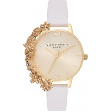Case Cuff Nude & Gold Watch