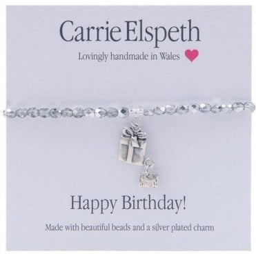 Happy Birthday Sentiment Bracelet