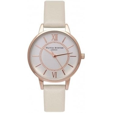 Wonderland Nude & Rose Gold Watch