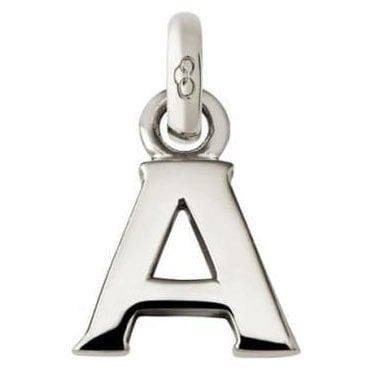 Alphabet Keepsakes Sterling Silver A Charm