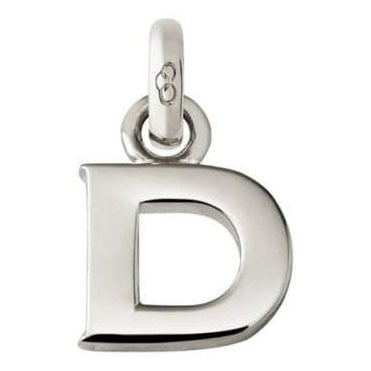 Alphabet Keepsakes Sterling Silver D Charm