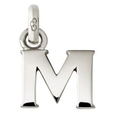 Alphabet Keepsakes Sterling Silver M Charm