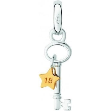 Moments Keepsakes Sterling Silver 18th Birthday Star Charm 5030.2467