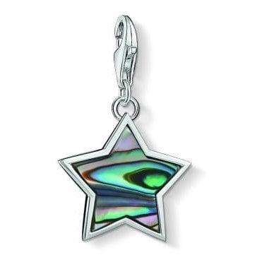 Shimmering Gradient Star Charm 1533-509-7