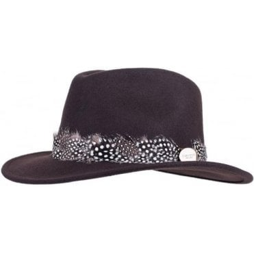 ecff8d31 The Suffolk Guinea Wrap Fedora. Hicks & Brown ...