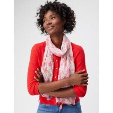Pomegranate Spot Scarf