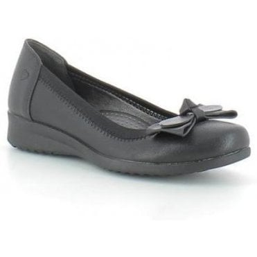 48493e796541 Annabel Ballerina Pump. Heavenly Feet Heavenly Feet Annabel Ballerina Pump  - Black