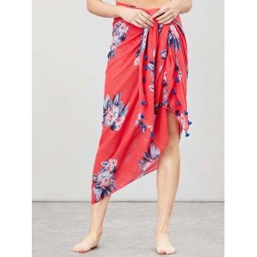 White Stuff AW18 Trailing Leaves Velvet Skirt in Glen Green Print sizes 8 /& 12