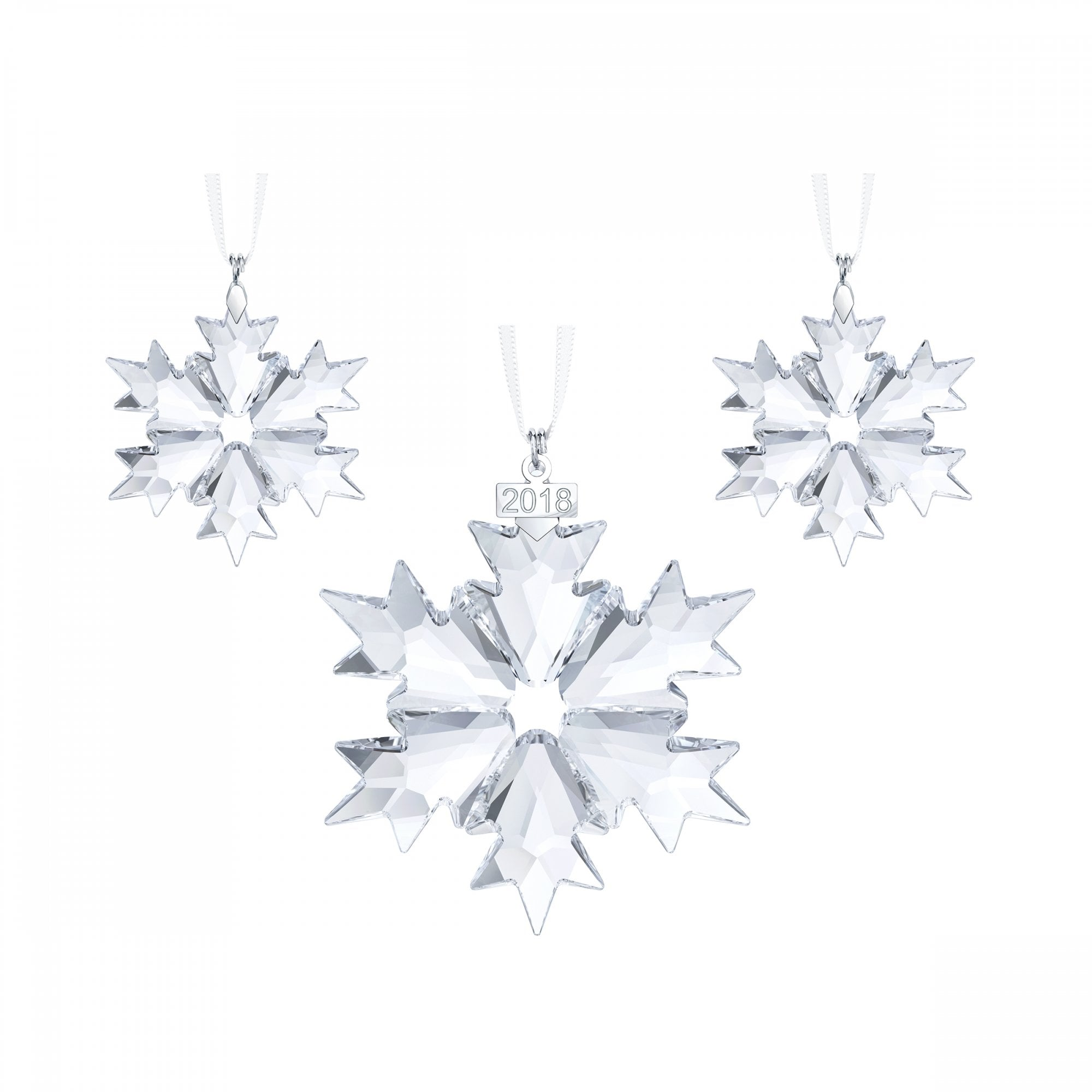 Swarovski ornament snowflake Annual Edition with  No Year on Snowflake
